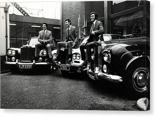 Music Personalities Pic 5th February Canvas Print