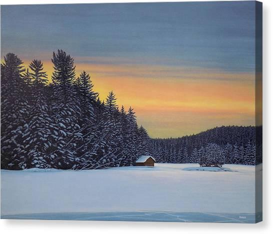 Muskoka Winter Canvas Print