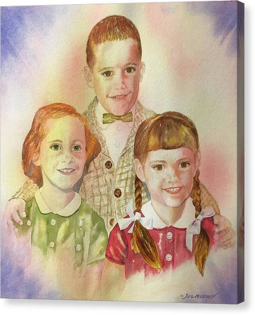 The Latimer Kids Canvas Print