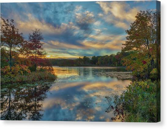 Canvas Print featuring the photograph My Guiding Light by Juergen Roth