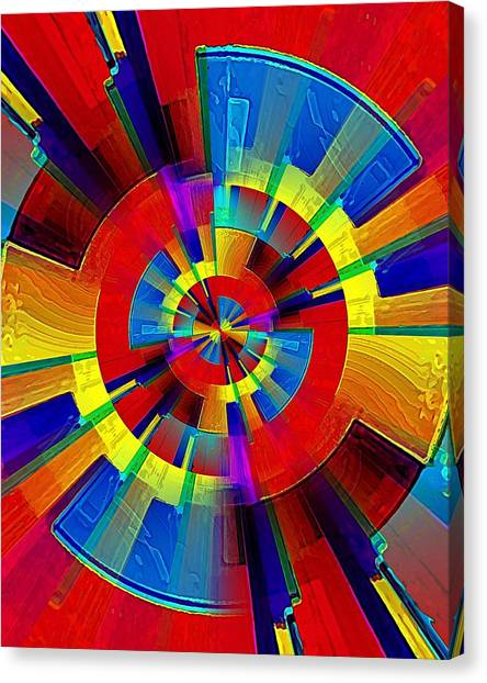 My Radar In Color Canvas Print