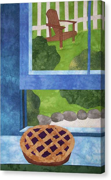 My Soul In A Blackberry Pie Canvas Print