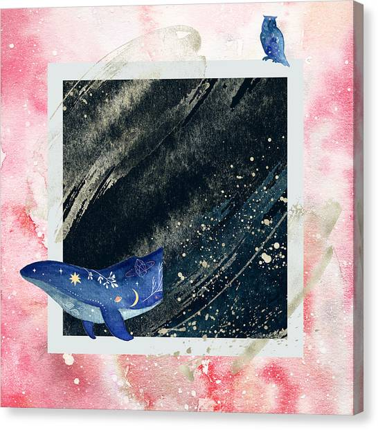Canvas Print featuring the digital art Mystic Voyage by Bee-Bee Deigner