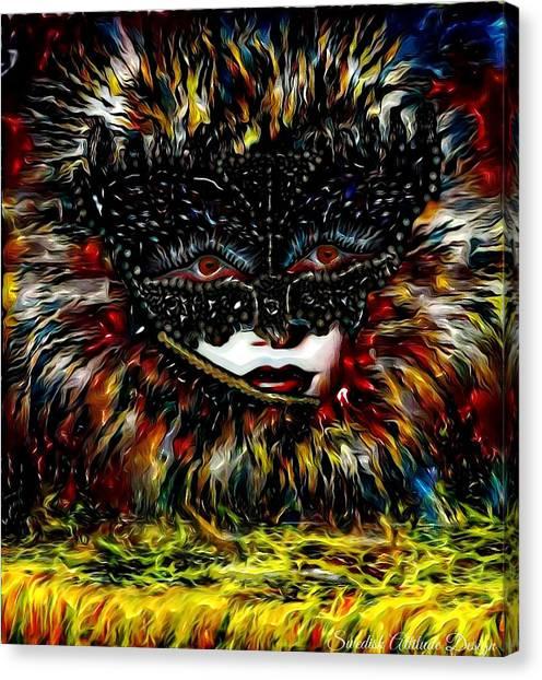 Mystica Coloure Canvas Print