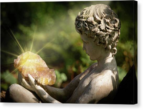 Canvas Print featuring the photograph Mystical Enchantment by Dale Kincaid