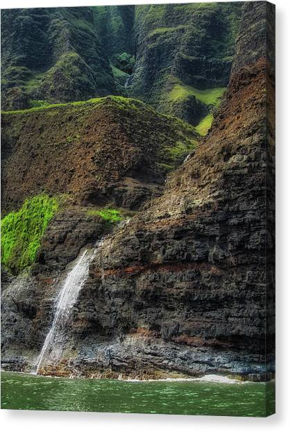 Na Pali Coast Waterfall Canvas Print