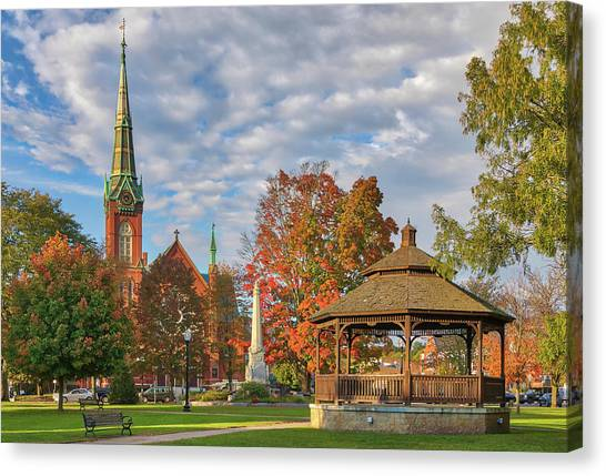Canvas Print featuring the photograph Natick Massachusetts by Juergen Roth