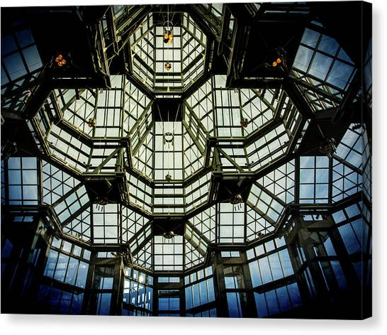 Glass Ceiling National Gallery Of Canada Canvas Print