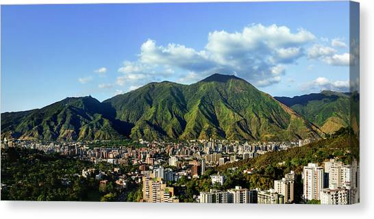 Verde Canvas Print - National Park Of El Avila - Caracas - Venezuela by Alejandro Ascanio