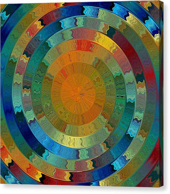 Native Sun Canvas Print