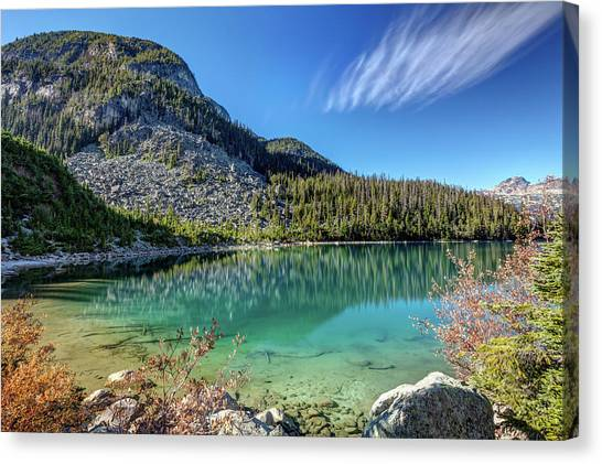 Canvas Print featuring the photograph Natural Splendor Of The Joffre Lakes by Pierre Leclerc Photography