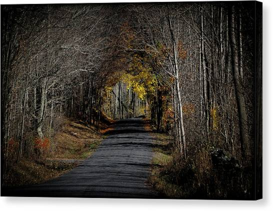 Natural Tunnel - Roxbury, New York Canvas Print
