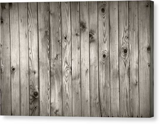 Natural Wooden Background Canvas Print