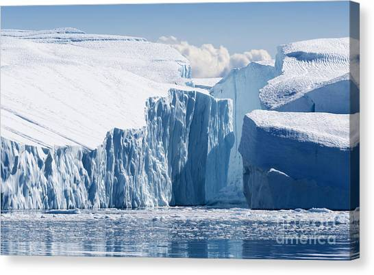 Atmosphere Canvas Print - Nature And Landscapes Of Greenland by Denis Burdin