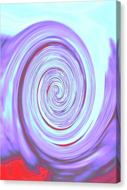 Nautilus Iv - Reverse Canvas Print
