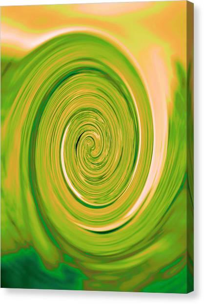 Nautilus V - Reverse Canvas Print