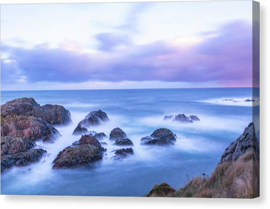 Nd Filter Long Exposure Canvas Print