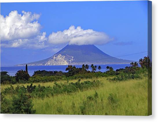Canvas Print featuring the photograph Nevis by Tony Murtagh