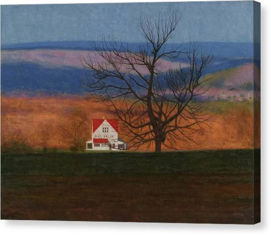 New England View  Canvas Print