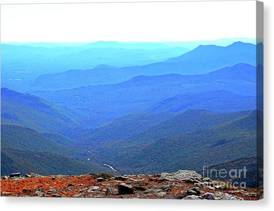 Canvas Print featuring the photograph New Hampshire High Point by Patti Whitten