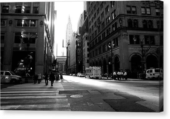 New York, Street Canvas Print