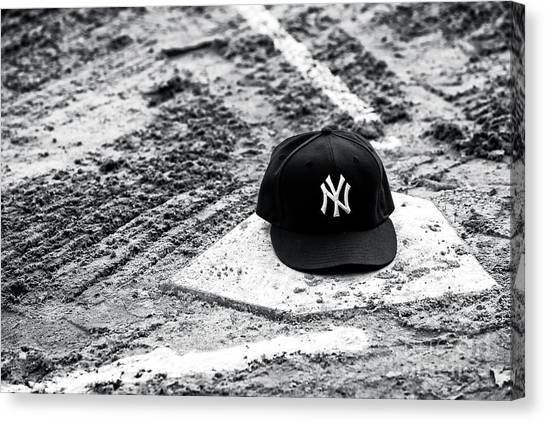 New York Yankees Home Canvas Print