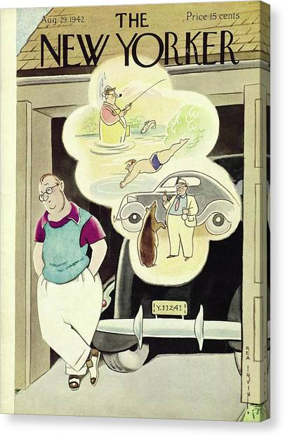 New Yorker August 29th 1942 Canvas Print