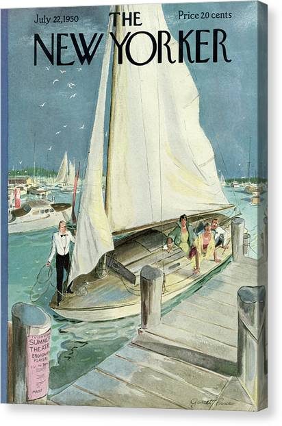 New Yorker July 22, 1950 Canvas Print