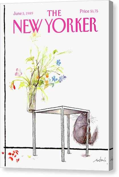 New Yorker Cover June 5 1989 Canvas Print
