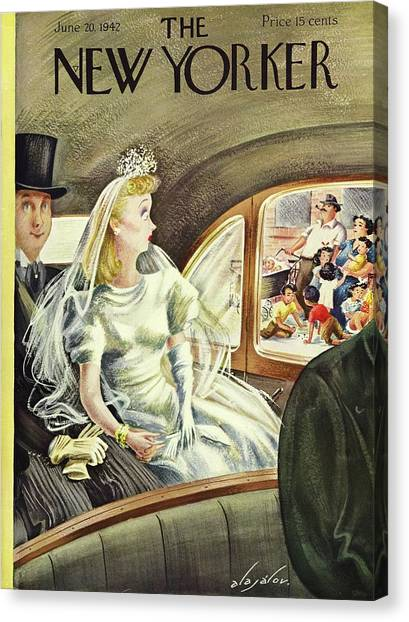 New Yorker June 20th 1942 Canvas Print