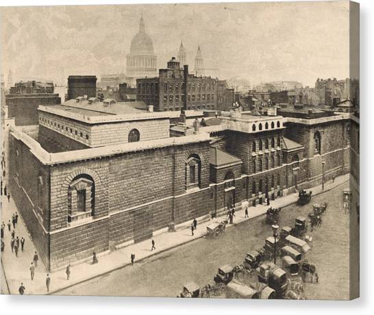 Newgate Prison Canvas Print by General Photographic Agency