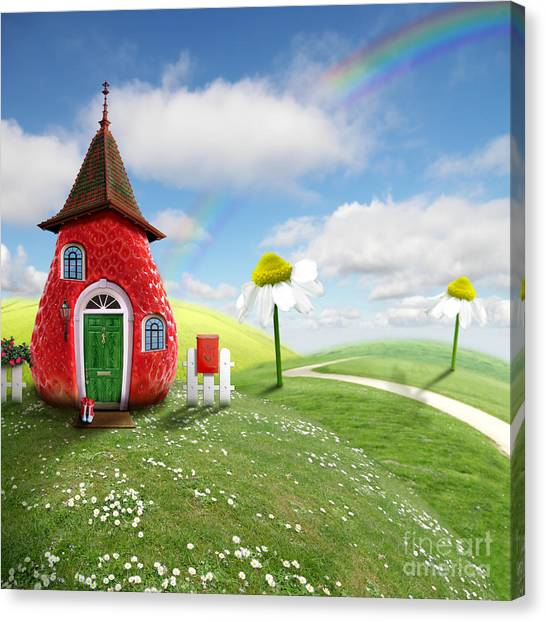 Camille Canvas Print - Nice Picture-collage With A Pretty by Oxa