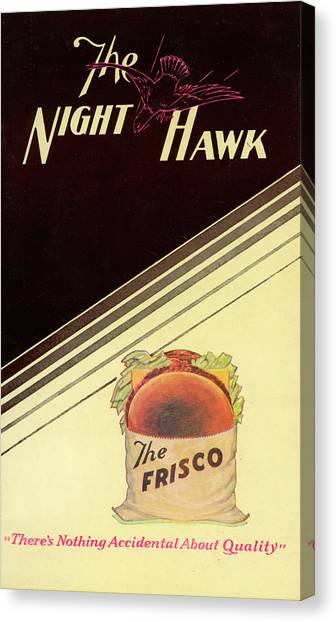Night Hawk, The Canvas Print
