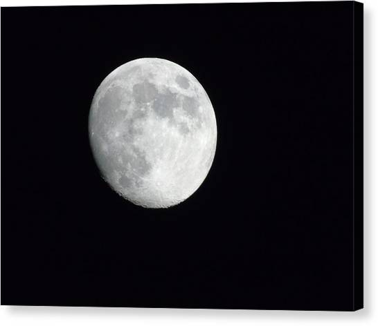 Satellite Canvas Print - Night by Yohana Negusse