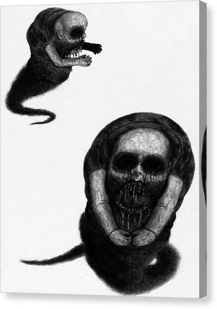 Nightmare Chewer - Artwork Canvas Print