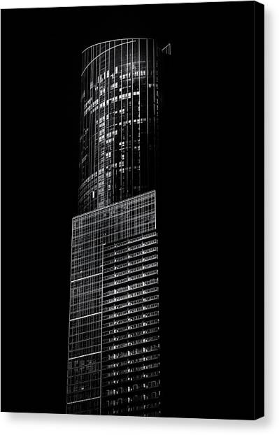 Canvas Print featuring the photograph No 388 Yonge St Toronto Canada 1 by Brian Carson