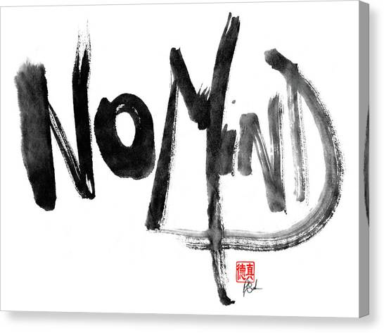 No Mind Canvas Print