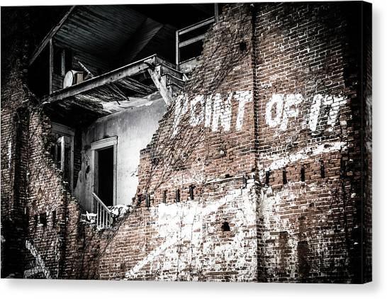 No Return Canvas Print