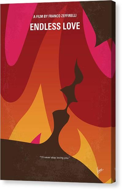 High School Canvas Print - No1023 My Endless Love Minimal Movie Poster by Chungkong Art