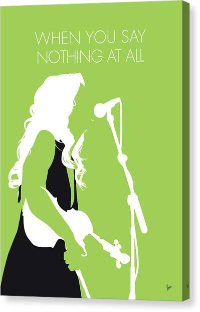 All Star Canvas Print - No276 My Alison Krauss Minimal Music Poster by Chungkong Art