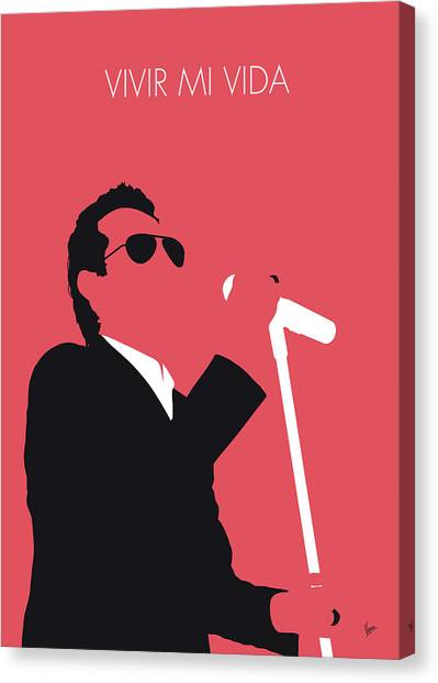 2013 Canvas Print - No292 My Marc Anthony Minimal Music Poster by Chungkong Art