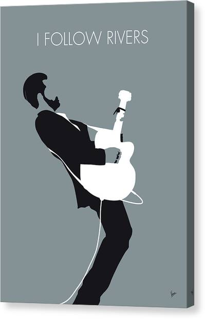 Block Canvas Print - No297 My Triggerfinger Minimal Music Poster by Chungkong Art