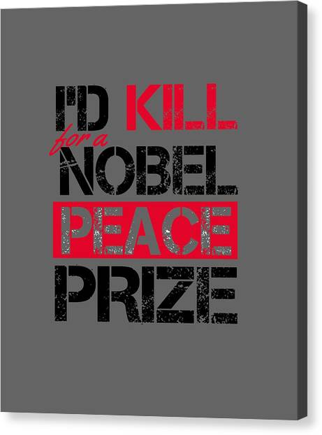 Nobel Prize Canvas Print