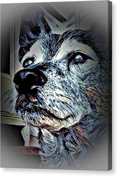 Noble Beast Canvas Print