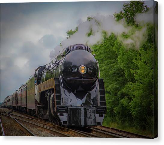 Norfolk And Western 611 Canvas Print