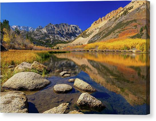 Canvas Print featuring the photograph North Lake by Tassanee Angiolillo