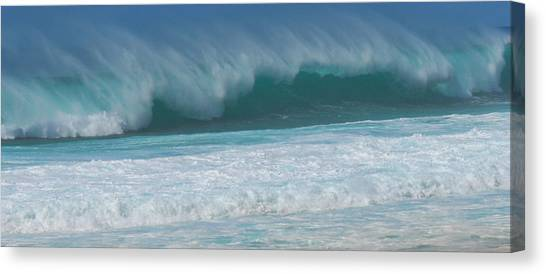 North Shore Surf's Up Canvas Print