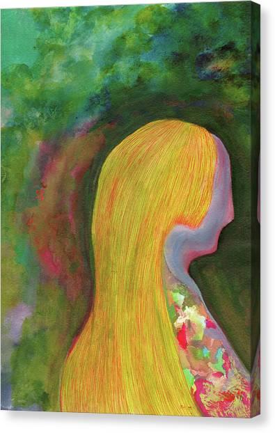 Nostalgia - #ss19dw005 Canvas Print by Satomi Sugimoto