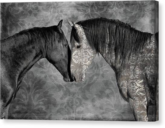 Not Always Black And White Canvas Print