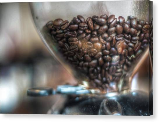 Nothing Beats A Fresh Cup Of Coffee In Canvas Print